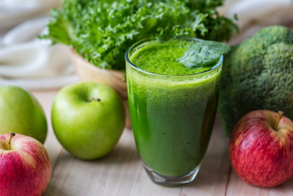 Batido verde para perder peso